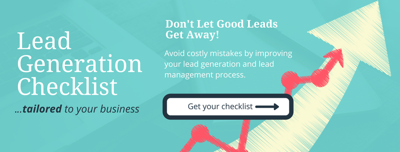 sign up for sales lead generation checklist for scalable growth